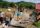 Oraşul Aninoasa măturat de ape într-o zi fără ploaie