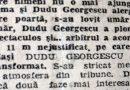 Fotbal. Jiul Petroşani / Hoţia lui Dudu Georgescu, marcată şi în presă