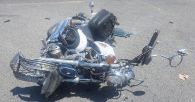 Motociclist accidentat grav de o şoferiţă