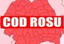 2020 – record de coduri roşii emise de ANM