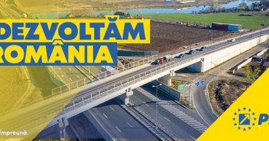 DEZVOLTĂM ROMÂNIA – Investim în infrastructură
