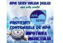 Protejați apometrele împotriva înghețului!