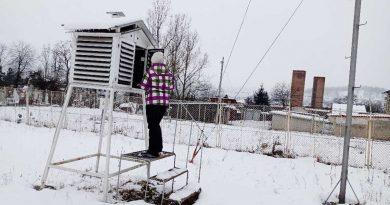 Petroșani: A fost înregistrată cea mai scăzută temperatură -13,8 C