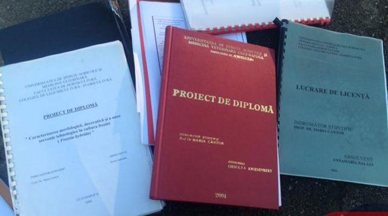Lucrările de diplomă, verificate în milioane de publicații