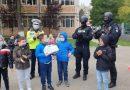 Visul unui băiețel de 8 ani, transformat în realitate de polițiști