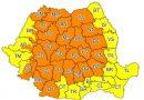 Hunedoara sub cod portocaliu de furtună