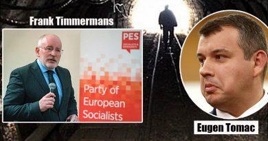 """Eugen Tomac: """"Refuz să cred că Timmermans vrea să fie un gropar al Europei"""""""