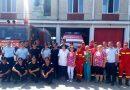 Pompierii  hunedoreni răspund pozitiv  la apelul medicilor de a dona sânge