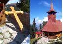 Crucea ce parcurge Drumul Crucii la Straja a fost scoasă din biserică